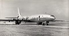 Bristol Brabazon G-AGPW, Filton, 1949 (Proplinerman) Tags: bristol aircraft 1949 airliner filton brabazon propliner bristolbrabazon gagpw bristolaircraftcompany