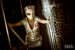 Silent Hill Nurse by Annie Red (Robb_Prats) Tags: barcelona game sexy death cosplay xx horror videogame nurse videojuego silenthill 2014 salondelmanga custome cosplaygirl canon600d
