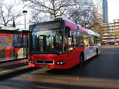 Veolia stadsbus 3877 Tilburg NS (Arthur-A) Tags: bus netherlands buses volvo nederland autobus tilburg brabant noordbrabant bussen veolia