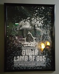 January 3, 2015 (Christine was here) Tags: bar poster concert god kentucky richmond hills lamb louisville gwar sanatorium waverly rva jacksonward davebrockie oderusurungus gwarbar