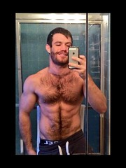 Beards (Suitedmuscle) Tags: hot male muscles fur furry dad guys bull