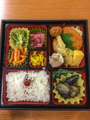 Tasty Bento Box for lunch (marc_buehler) Tags: food japan ibarakiken tsuchiurashi