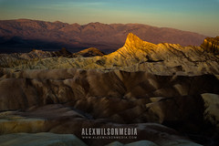 First light on Manly Beacon (alexwphoto) Tags: ca southwest nature sunrise dessert manly scenic deathvalley beacon