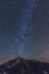 6.000.000 de visitas (Urugallu) Tags: luz canon noche flickr nieve jose asturias cielo estrellas fotografia astros montaa frio imagen rodriguez altura satelites asturies firmamento 70d vialactea joserodriguez principadodeasturias tokina1116 urugallu