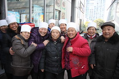 Humanity transending cultural, religious and language borders 1/5 (johey24) Tags: china street people fun raw shanghai candid religion smiles laughter muslims hui shandong happypeople religioninchina huipeople visitingshanghai shandongpeople humanityacrossculturalborders