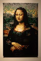 (elalex2009) Tags: lego contemporaryart modernart sony monalisa legoart nathansawaya nex7 sonynex7 legotoybricks sonyalphanex7