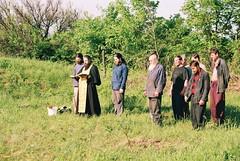 67. Молебен перед началом стройки Всехсвятского скита 2001 г