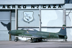 lockheed fau tbird durazno t33 fuerzaaéreauruguaya uruguayanairforce