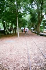 Untiled (Tu's Photo ) Tags: tree film train fuji taiwan railway 400 fujifilm yilan ricoh xtra 35fm