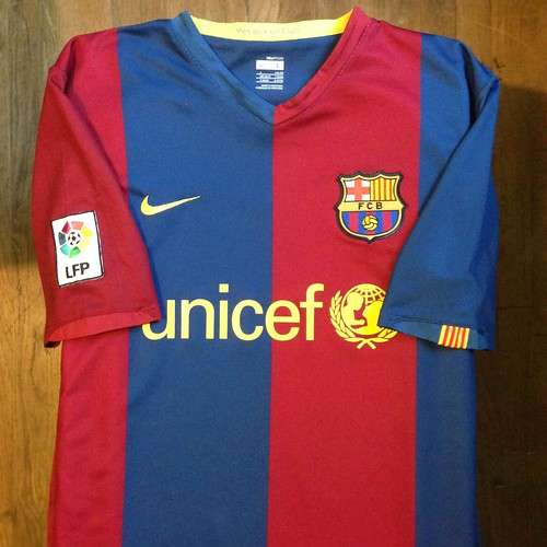 6a94982c0c9 2006-2007 FC Barcelona Home Jersey