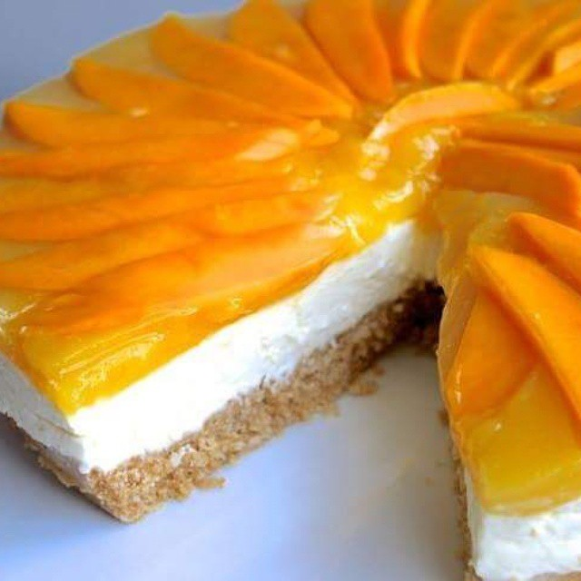MANGO cheese cake.. :)
