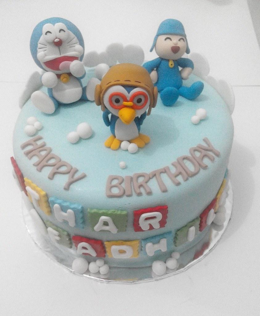 Penelope Elephant Birthday Cake