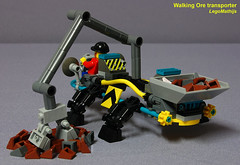 02_backside_Walking_Ore_Transporter (LegoMathijs) Tags: 2 rock energy tipper lego crystal space scifi concept slope raiders miners moc ores legomathijs