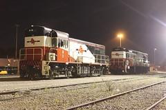SCT Perth Shunters (Aussie foamer) Tags: train railway locomotive h2 westernaustralia ee sct englishelectric westrail kclass forrestfield wagr hclass k208