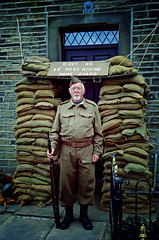 """Don't Panic!"" (Majorshots) Tags: costumes people portraits yorkshire 1940s reenactment westyorkshire wartime haworth homeguard haworth1940sweekend"