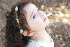 Gianna_0089 (Ciara*) Tags: girl kid toddler smiles cutie niece sunflower