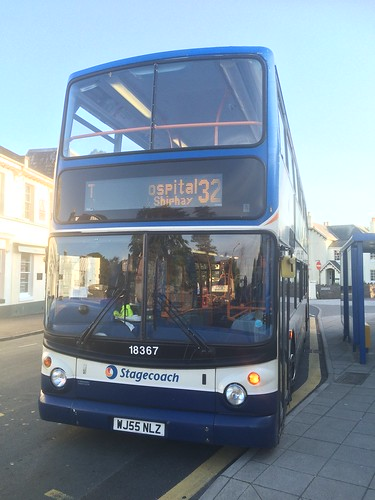 Stagecoach South West 18367 WJ55NLZ