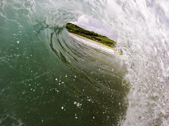 Framed || Werri Beach (edwinemmerick) Tags: beach nature surf wave australia shorebreak geringong gopro werribeach