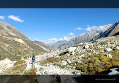 Those who crowd in my path do not know that I am walking alone with you.. (koushikzworld) Tags: mountain nature trekking photography fuji indian sony himalayas ganga gangotri gomukh carlzeiss shivling bhagirathi uttarakhand gaumukh koushikzworld koushikbanerjee