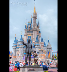 Walt Disney World (J.L. Ramsaur Photography) Tags: vacation sky castle statue clouds photography photo nikon florida pic disney disneyworld photograph mickeymouse thesouth orangecounty waltdisneyworld magical iconic hdr magickingdom waltdisney centralflorida happiestplaceonearth photomatix lakebuenavistafl bracketed skyabove 2013 wheredreamscometrue hdrphotomatix hdrimaging cinderellascastle ibeauty hdraddicted allskyandclouds tennesseephotographer d5200 southernphotography screamofthephotographer hdrvillage jlrphotography photographyforgod worldhdr nikond5200 hdrrighthererightnow engineerswithcameras hdrworlds jlramsaurphotography