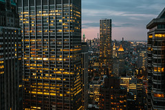 New York Stories (mark letheren photography) Tags: city newyorkcity longexposure newyork skyline architecture skyscraper outdoor dusk manhattan vscofilm