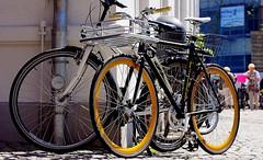 Just one hour in my hometown ! ( 12th run ) - in the pedestrian zone ! (tusuwe.groeber) Tags: street bike bicycle germany deutschland shot sony rad rder velo fahrrad photographing oldenburg fiets fahrrder niedersachsen lowersaxony aufnahme strase pedestrianzones ablichtung fusgngerzone nex7
