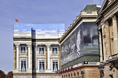 False Front (AntyDiluvian) Tags: trip paris france hotel renovation placedelaconcorde falsefront 2015 hotelcrillon
