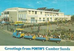Pontins Camber Sands Holiday Camp (trainsandstuff) Tags: vintage postcard cambersands pontins holidaycamp