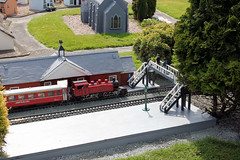 Southport model railway village. (boneytongue) Tags: heritage tourism station toy model village tracks railway lancashire locomotive southport