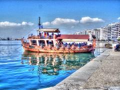 Yo, Ho, Ho, and a Bottle of Rum!!! (mmalinov116) Tags: blue sea beautiful ship greece macedonia thessaloniki timeless macedonian makedonia    macedoniagreece