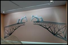 mx3d - bridge project visualisatie 01 2015 joris laarman lab (groninger museum 2015) (Klaas5) Tags: holland netherlands nederland industrialdesign expositie tentoonstelling groningermuseum vormgeving contemporarydesign 3dprinted jorislaarmanlab picturebyklaasvermaas 3dwelded