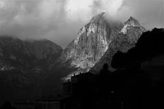 FRANCE, Corse, Ota (Bruno Cochet) Tags: bw cloud landscape noir corsica nuage paysage et falaise blanc brouillard