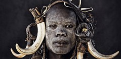 Ethiopia. A Mursi man // by Jimmy Nelson BV and teNeues (mike catalonian) Tags: africa portrait male face photography ethiopia mursi