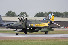 Phantom (Bernie Condon) Tags: uk tattoo plane greek flying fighter display aircraft aviation military jet airshow phantom bomber f4 warplane airfield ffd fairford riat mcdonnelldouglas haf raffairford airtattoo riat09