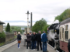 East Lancs Railway 010 (FrMark) Tags: uk england station train bury tank britain north railway steam lancashire british locomotive lancs rawtenstall
