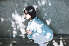 DSC_0691 (Ivan KT) Tags: light shadow portrait woman art girl photography lotus taiwan exhibition sight conceptual backlighting