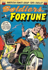 Soldiers of Fortune 5 (Michael Vance1) Tags: art adventure artist anthology soldiers pulp comicbook comicbooks cartoonist silverage