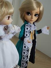 O Presente (2/2) (Usa_chan) Tags: hearts jack toy james doll clothes gift serena pullip sibling pandora taeyang raiki vessalius tiphona