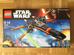 Lego Poe's X-Wing (XFrog360) Tags: starwars lego xwing