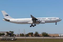 LV-CEK (Hector Rivera - Puerto Rico Spotter) Tags: usa airport florida miami international mia airbus argentinas aerolineas kmia a340312 lvcek