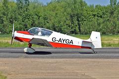 G-AYGA Jodel D.11 J W Bowes Sturgate Fly In 05-06-16 (PlanecrazyUK) Tags: sturgate egcs fly in 050616 gayga jodeld11 jwbowes