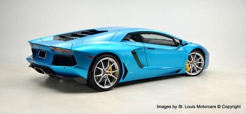 Lamborghini Aventador Ocean Shimmer