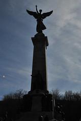 DSC_4815 (aba-sah) Tags: canada silhouette statue angel montréal montroyal parcjeannemance georgeétiennecartierstatue