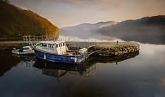 Inversnaid Hotel Boat (1 of 1) (Gearmash) Tags: west way landscape scotland highlands highland loch lomond inversnaid