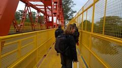 Crossing the friendship bridge
