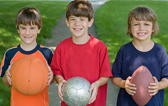 Three Little Boys (photos.camp) Tags: american ball basketball boy brother cheerful child childhood children cute domestic family football friend friendship fun grin grinning handsome happiness happy holding kid kidssports life little male model people person play playful playing small smile smiling soccer sport summer three young youth