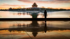 Beijing (Photo Alan) Tags: china sunset sea water outdoor beijing serene