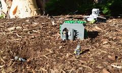Bunker Buster (Alternate focus) (Weegee011) Tags: lego russian kv2 tank german wwii ww2