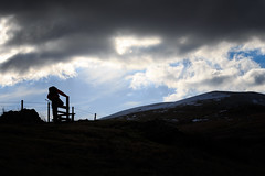 NSD_1825 (Nazgul 9) Tags: winter silhouette wales landscape south scene brecon beacons