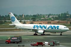 N209PA Airbus A.300B4-203 Pan Am (pslg05896) Tags: n209pa airbus a300 panam lax klax losangeles
